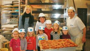 Sternenkinder beim Bäcker
