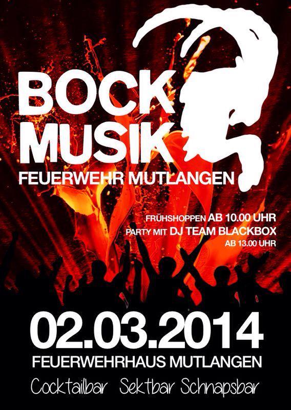 Flyer Bockmusik 2014